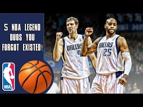 5 NBA legend duos that you forgot existed!
