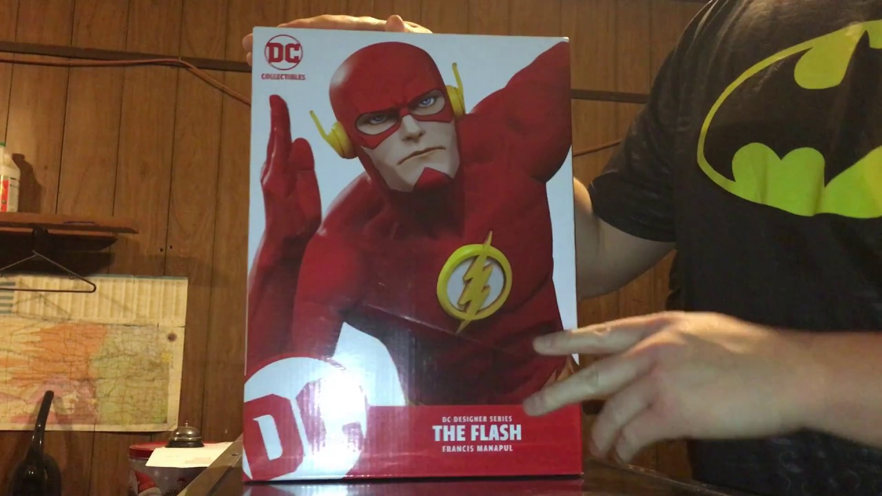 DC Comics Designer Series Flash by Francis Manapul Statue Figure DC Collectibles