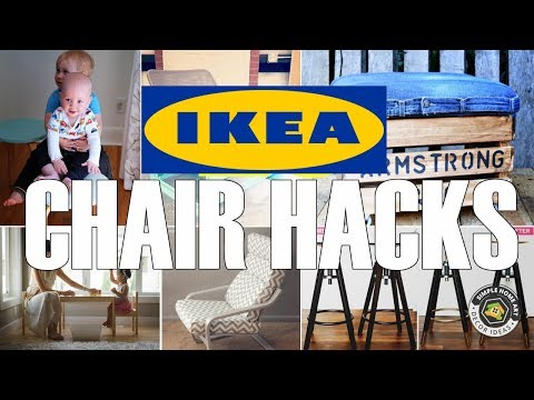 28 Sweet IKEA Chair Hacks