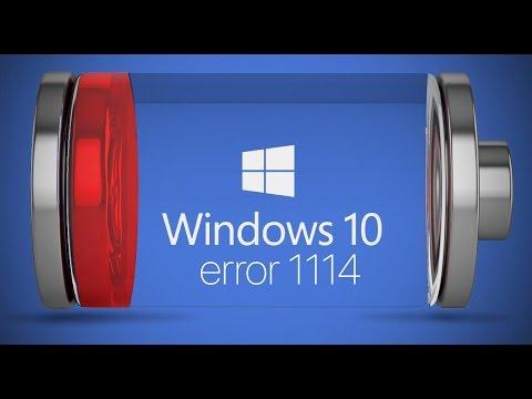Windows error 1114 - e913