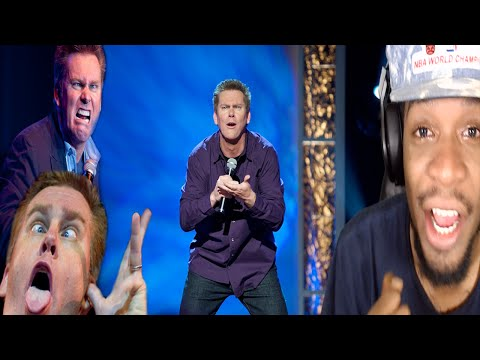 YOU CANT WATCH THIS WITHOUT LAUGHING! FUNNIEST COMEDIAN EVER BRIAN REGAN REACTION!
