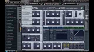 Massive: how to make dirty electro bass and automate pitch
