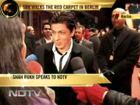 MY NAME IS KHAN BIGGEST MOVIE STAR ON PLANET@BERLIN FILM FESTIVAL SRK KING KHAN