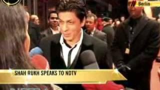 MY NAME IS KHAN BIGGEST MOVIE STAR ON PLANET@BERLIN FILM FESTIVAL SRK KING KHAN