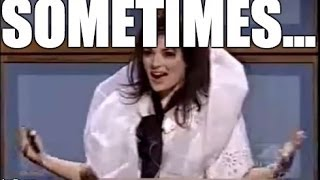 "SNL - BJORK (WINONA RYDER) - ""SOMETIMES, WHEN I"