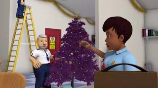 Strażak Sam | Wystawianie ozdób choinkowych! Bajki świąteczne | Bajki dla dzieci