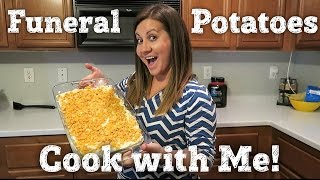 COOK WITH ME | FUNERAL POTATOES | BAKED LEMON CHICKEN | PHILLIPS FamBam Cook with Me
