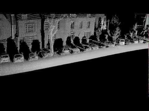 3D Laser Point Cloud of Woodstock