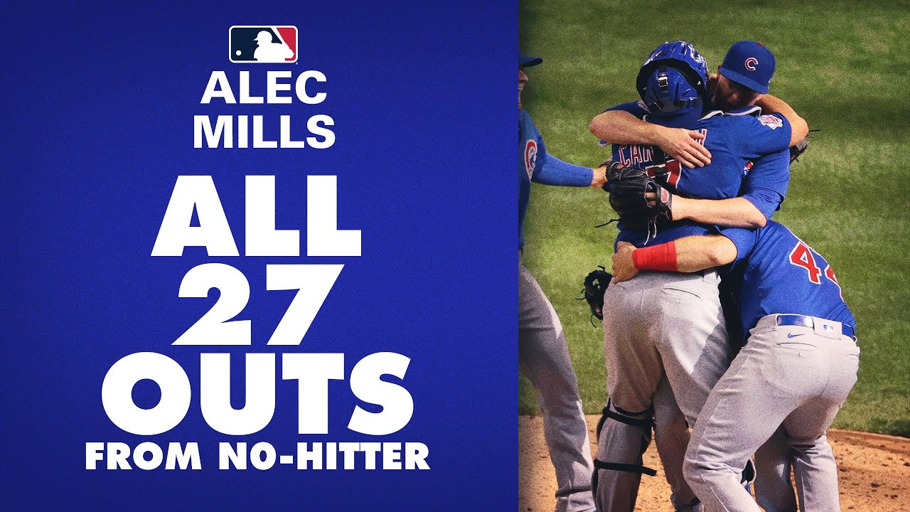 All 27 Outs from Cubs' Alec Mills' No-Hitter vs. Brewers