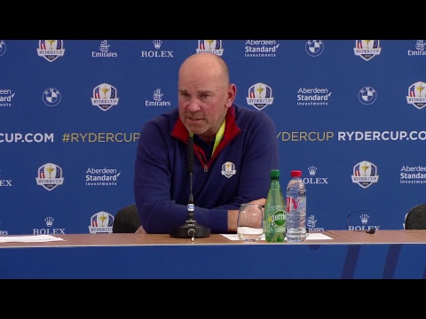 Ryder Cup 2018 - Day 1 Captains Press conference