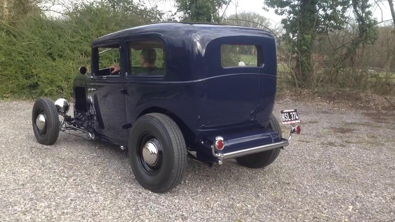 1932 Ford Sedan V8 Hot Rod For Sale (UK) - YouTube