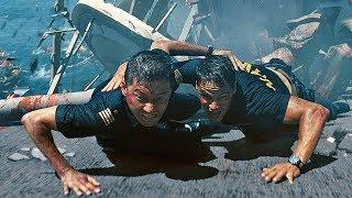 Пришельцы уничтожают эсминец «Джон Пол Джонс» / Морской бой (2012)