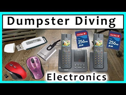 Dumpster Diving at Thrift Store #241 Electronics