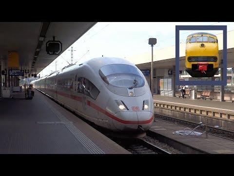 ICE 3 'Singen' + 'Aalen' rijdt station Basel Badischer Bahnhof binnen!