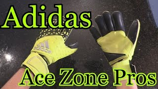 Goalkeeper Glove Review: Adidas ACE Zones Pro