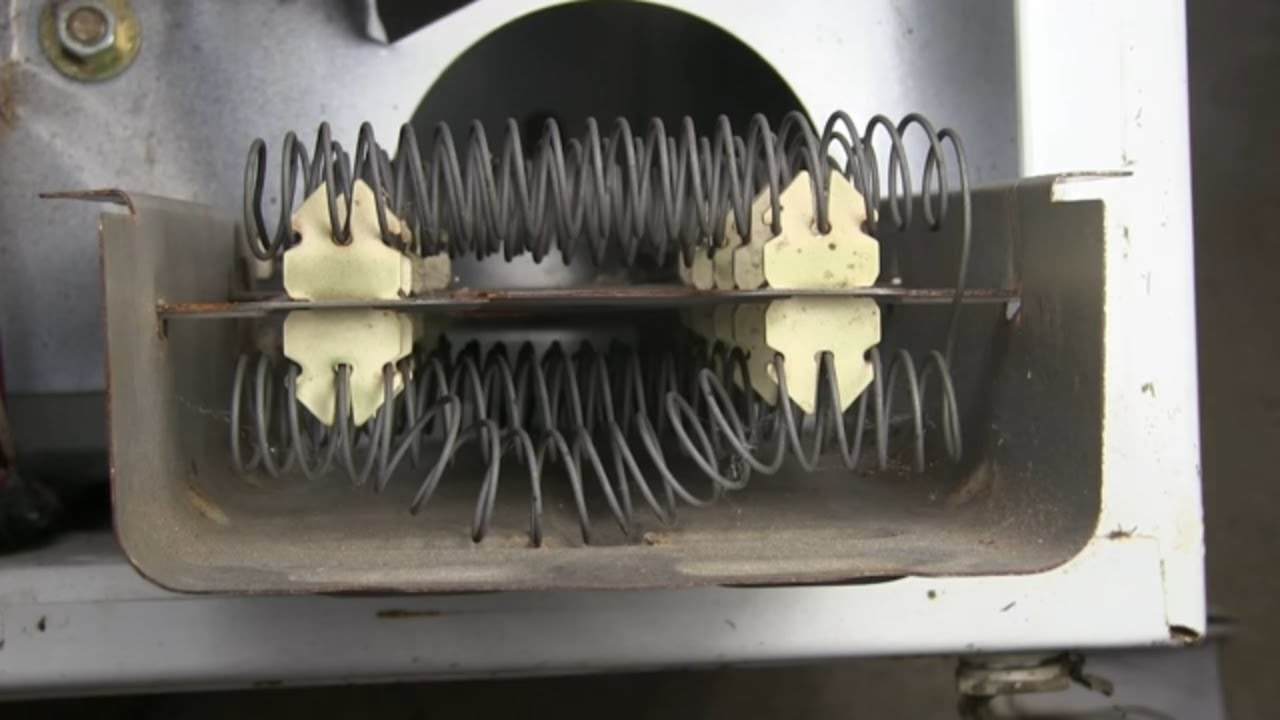 small resolution of grounded heating element whirlpool dryer