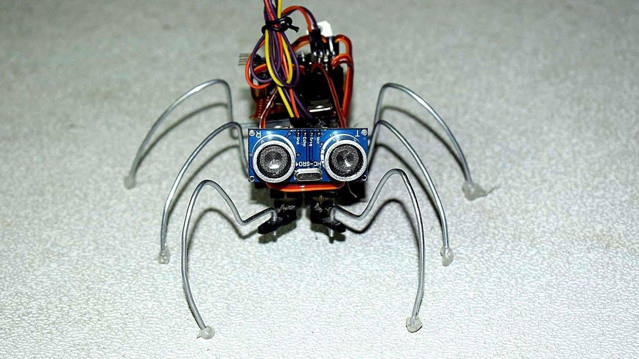 How to make robotic spider diy best arduino