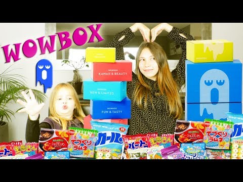 WowBox Fun And Tasty : Kawaii Box Unboxing Désgustation - Japan Yummy Food