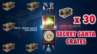 ¡¡ABRIENDO SECRET SANTA CRATES!! - Rocket League