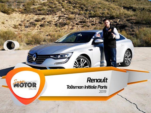 Al volante del Renault Talisman Initiale Paris 2019 / Review / Prueba SuperMotorOnline.com