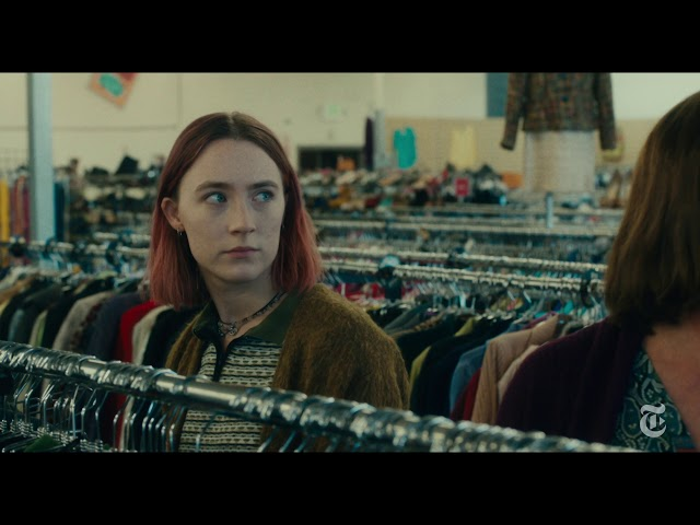 "Greta Gerwig narrates a sequence from ""Lady Bird,"" featuring Saoirse Ronan and Laurie Metcalf. (The New York Times)"