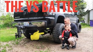 duramax 4 inch vs 5 inch exhaust you have to hear this