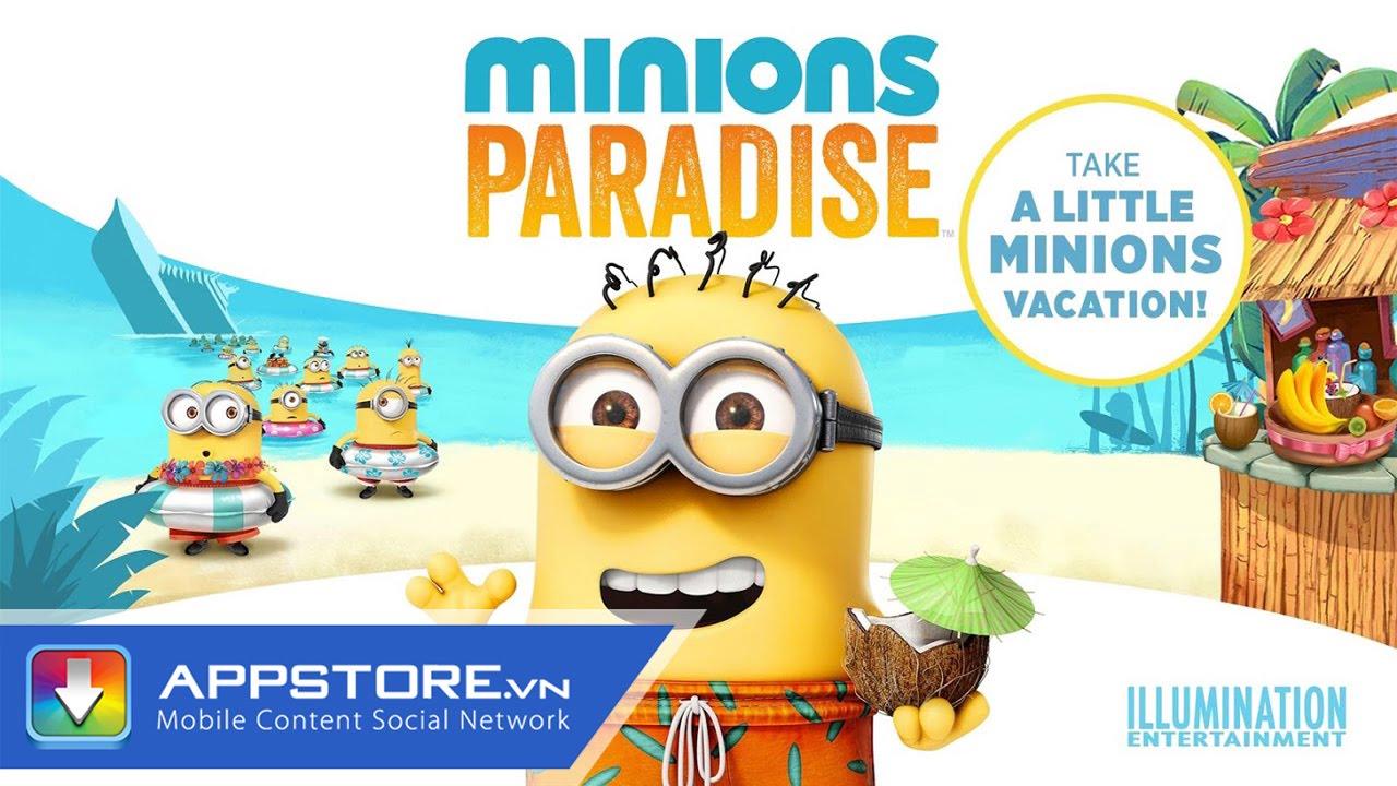[Game] Minions Paradise – Hòn đảo Minions – AppStoreVn