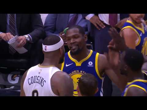 Kevin Durant and DeMarcus Cousins Both Ejected After Exchanging Words
