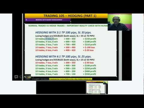 Learn to Trade - TRADING 105 - HEDGING (PART 1)