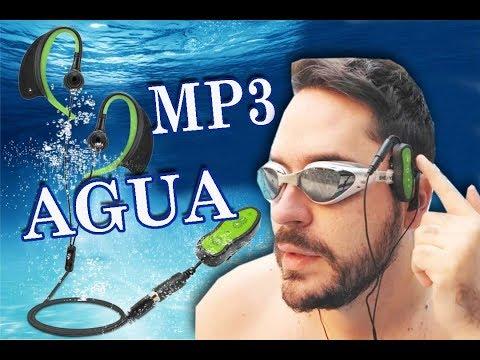 Mp3 a prueba de agua Piscina Natación Deportes extremos recarga ble