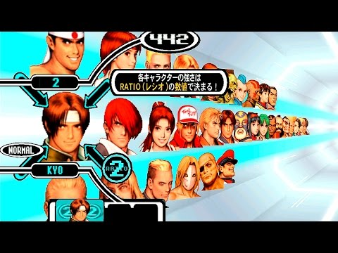 [Dreamcast] Capcom vs SNK PRO | Character select screen [720P/HD Remastered/NullDC]