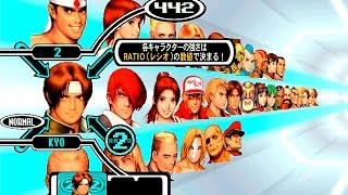 [Dreamcast] Capcom vs SNK PRO | Character select screen [720P/HD Remastered/NullDC]
