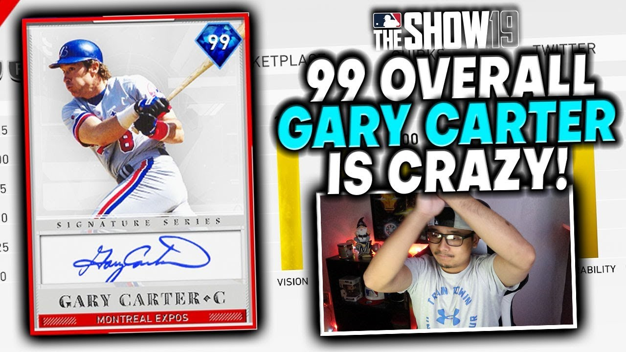 Gary Carter Baseball Cards Value