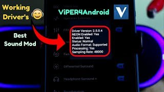 Video [Magisk] Install ViPER4ndroid Successfully On Any Android Device(#Rooted) Oreo,Nougat.. download MP3, 3GP, MP4, WEBM, AVI, FLV Agustus 2018