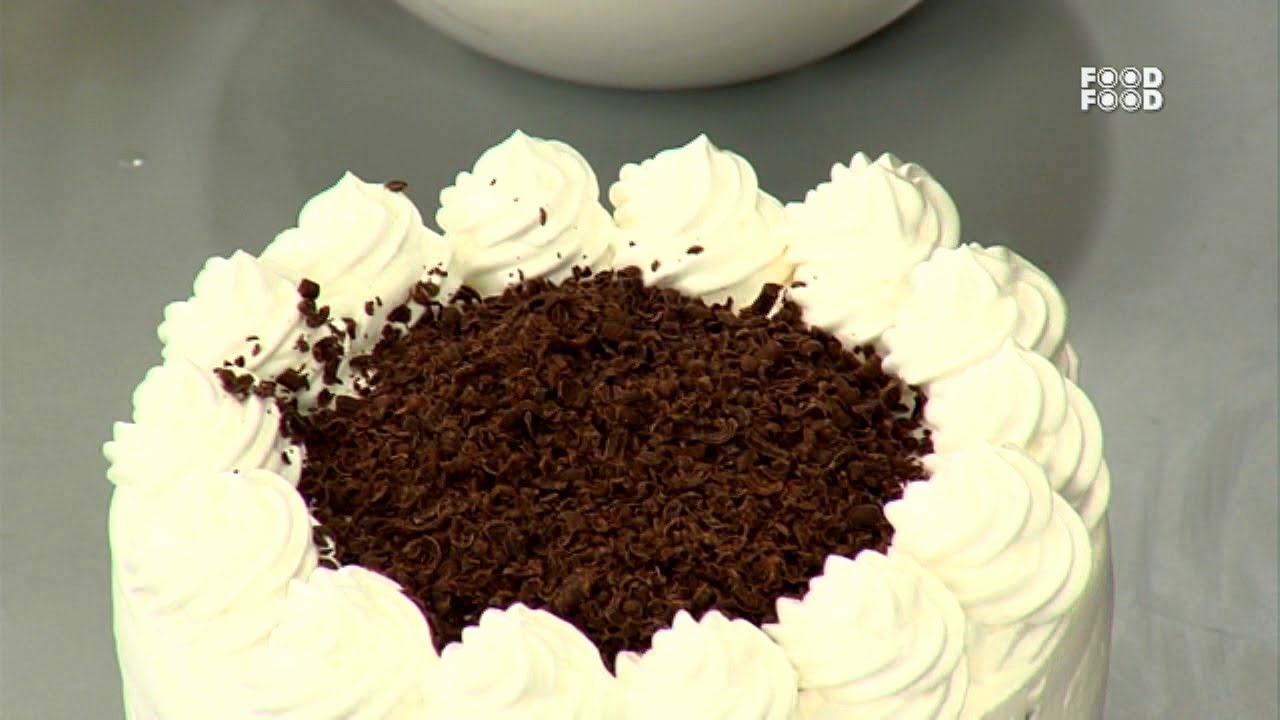 Eggless Cream Cake Recipe