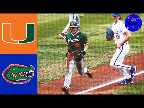 Download #21 Miami vs #1 Florida Highlights (Game 3)   2021 College Baseball Highlights