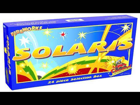 Solaris Selection Box by Standard Fireworks - YouTube
