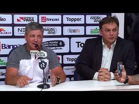 Diretoria apresenta novo treinador do clube do Remo