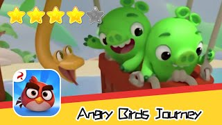 Angry Birds Journey 74 Walkthrough Fling Birds Solve Puzzles Recommend index four stars