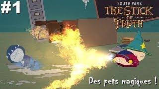 South Park Le bâton de la vérité - Découverte Gameplay FR Ep.1 : Des pets magiques !