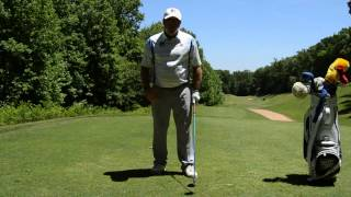 Bradley Hughes Golf- How To Draw The Ball From The Tee