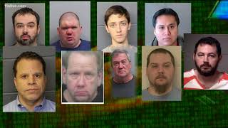 Multi-state sex sting nets 34 arrests in Georgia | Operation Southern Impact II