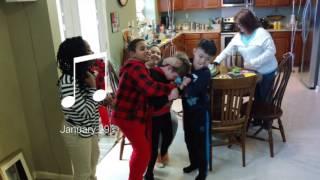 Wyatt Bennett Birthday Party 2017 brother sister Lawson