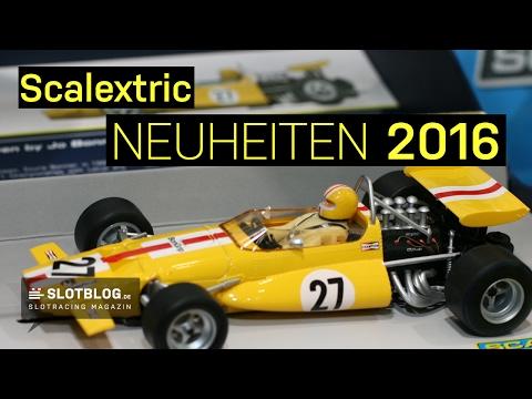 Scalextric Neuheiten 2016
