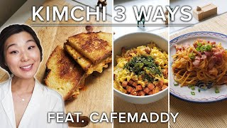 How To Make 3 Different Recipes With Kimchi • Tasty