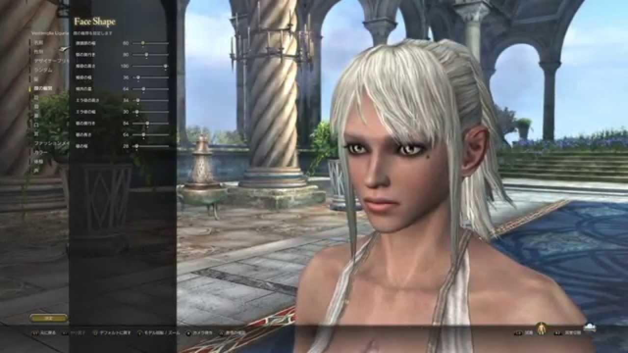 [PS4][JPN][DDON]ドラゴンズドグマ オンライン キャラメイク Dragons Dogma online CBT , character maiking 2 , YouTube