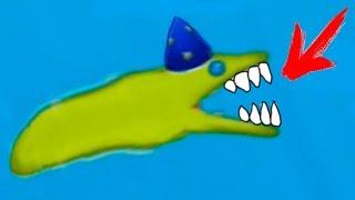 ЗМЕИНЫЙ ЧЕРВЯК съел город и маленьких рыбок #21 Съедобная Планета Tasty Planet Forever на крутилкины