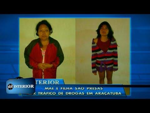 Mãe e filha são presas por tráfico de drogas em Araçatuba