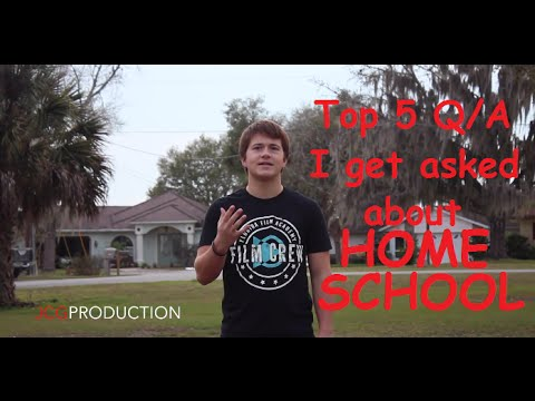 TOP 5 QUESTIONS I GET ASKED ABOUT BEING HOMESCHOOLED
