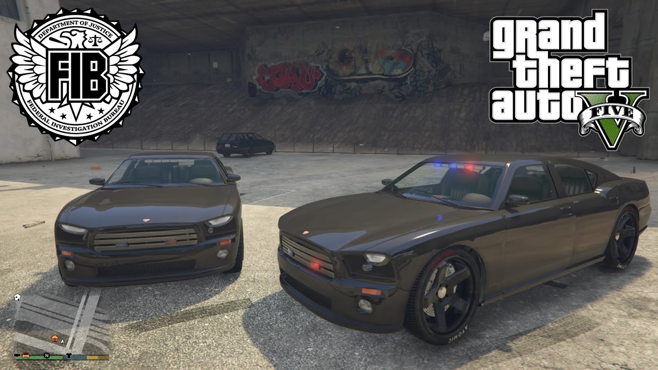 Gta 5 How To Customize The Fib Buffalo Without Mods